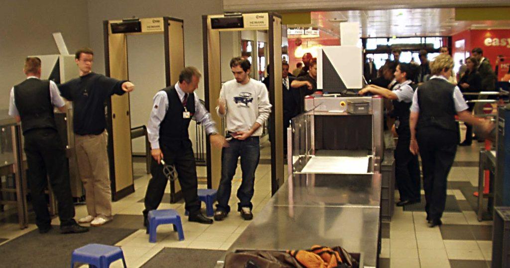 Новая система контроля безопасности в аэропорту Праги