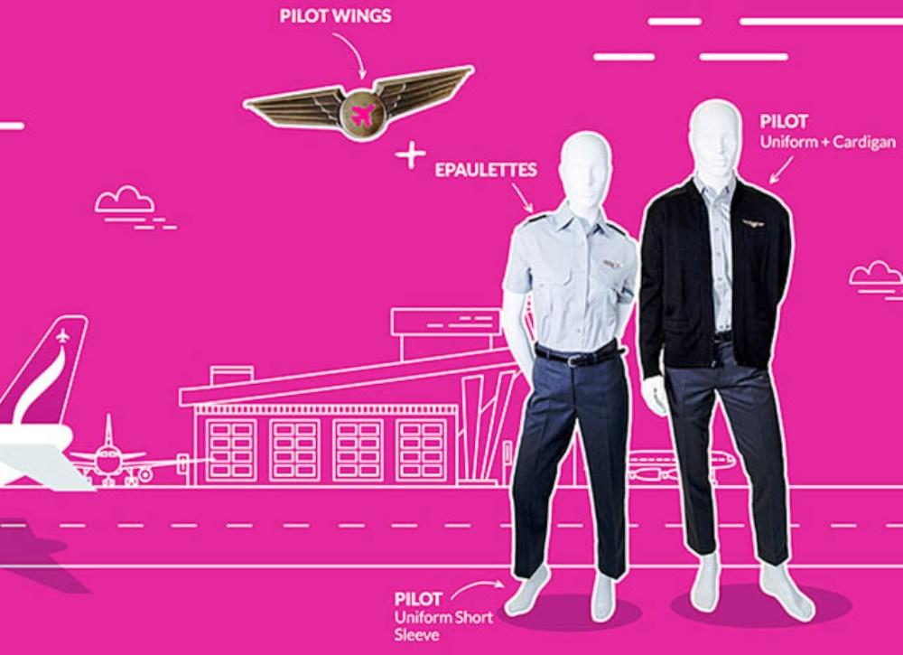 air journal Swoop uniformes2 - За несколько дней до первого полёта Swoop представила униформу