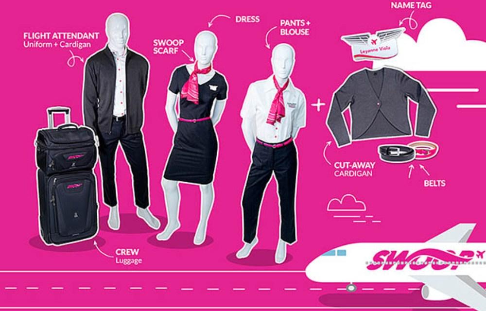 air journal Swoop uniformes3 - За несколько дней до первого полёта Swoop представила униформу