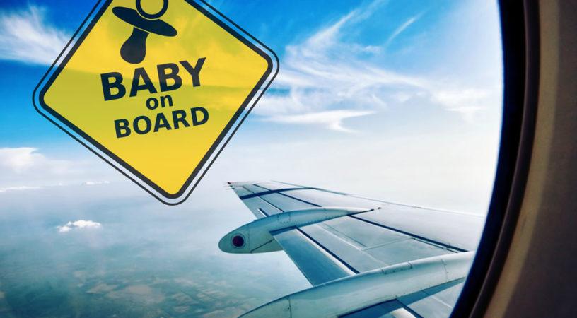 baby on board klm 816x450 - Памятка для путешествующих с детьми