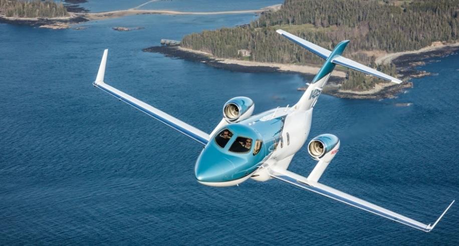elit3 - Авиационное подразделение компании Honda представило новый частный самолет HondaJet Elite