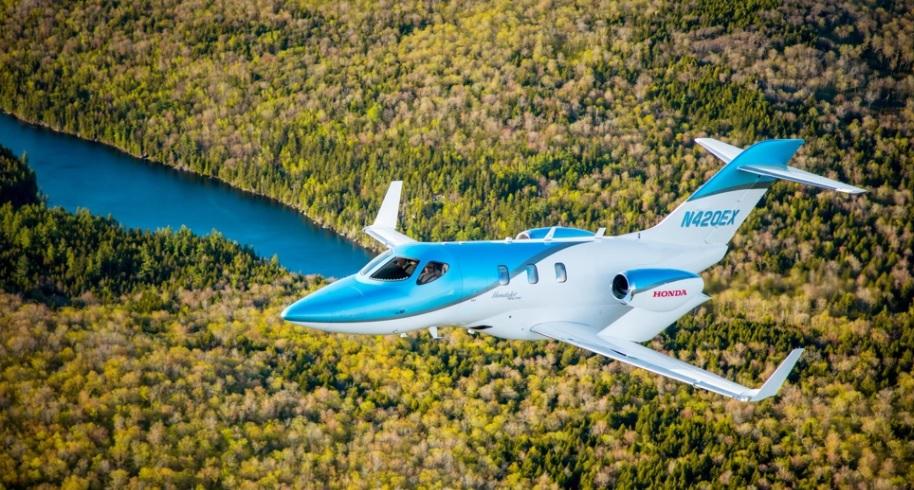 elite1 - Авиационное подразделение компании Honda представило новый частный самолет HondaJet Elite