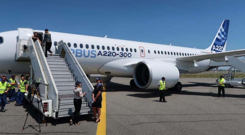 JetBlue - первый пользователь региональных Airbus A220-300
