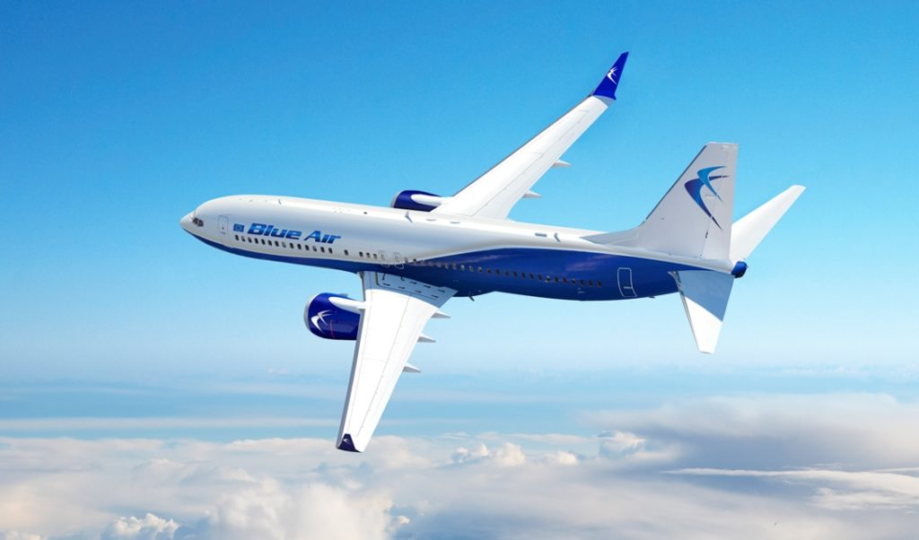 Blue Air 1 1024x602 - Авиакомпания Blue Air запустит рейс Бухарест-Париж