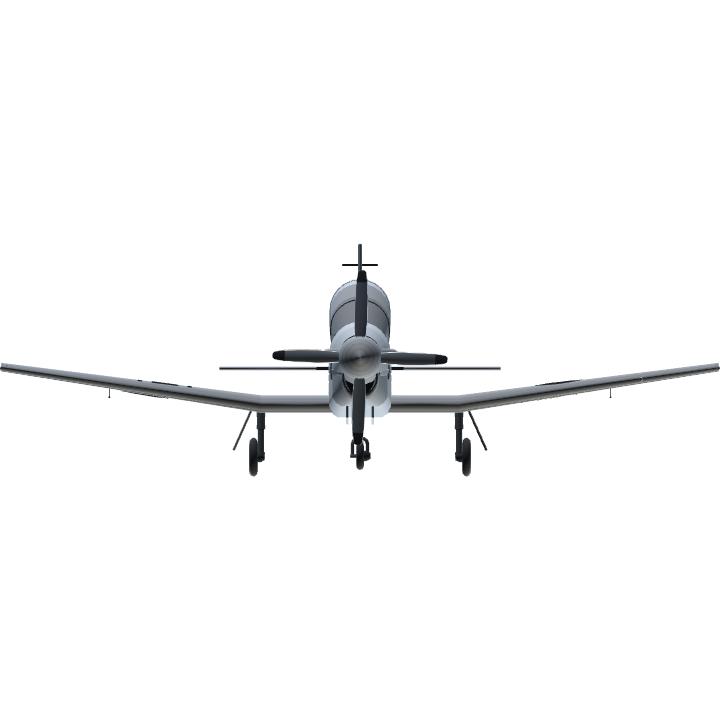 J6RVvV FrontView - Raytehon Aircraft