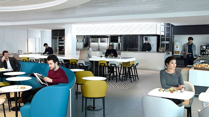 air france parisCDG lounge 800x450 - Кулинарные шоу в аэропорту Парижа