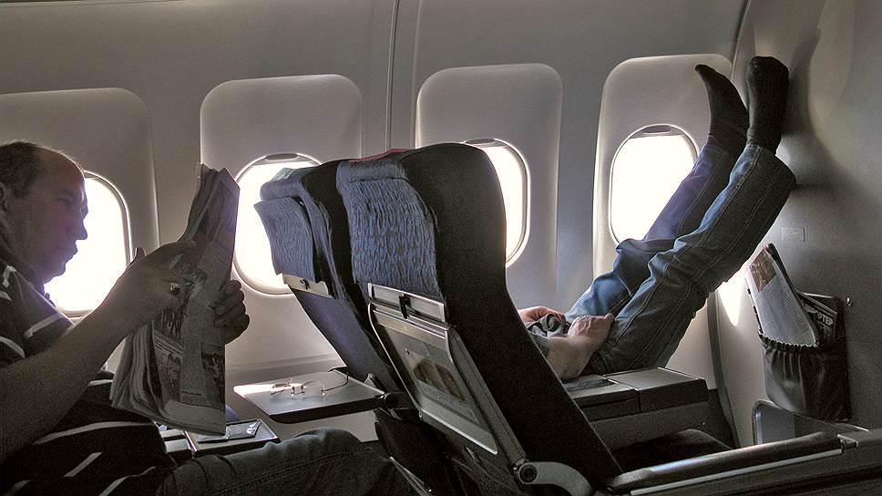Большие штрафы за мелкие нарушения на борту самолета