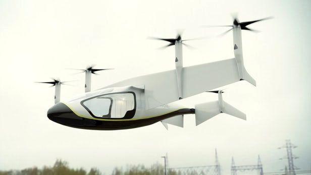 rolls royce evtol air taxi 1 - Rolls-Royce  представил свою концепцию аэротакси с гибридным приводом