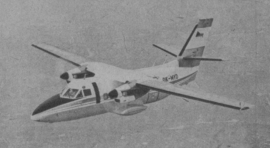 02 - L-410 Turbolet  - тернистый путь к успеху