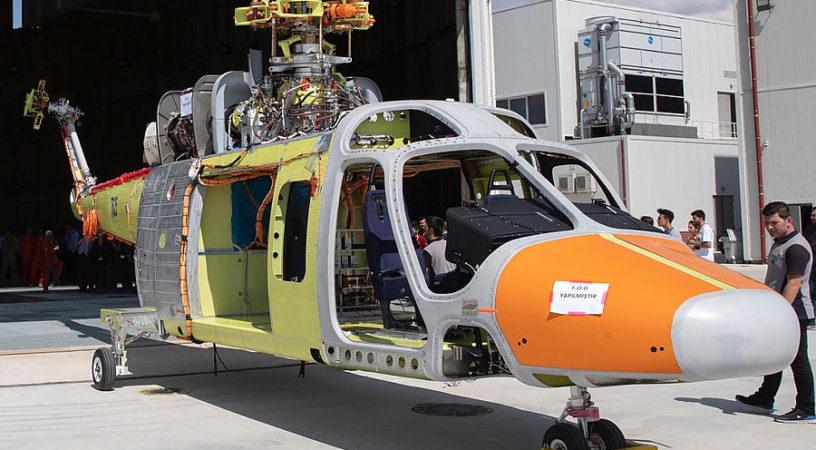 Первый турецкий вертолет представлен общественности