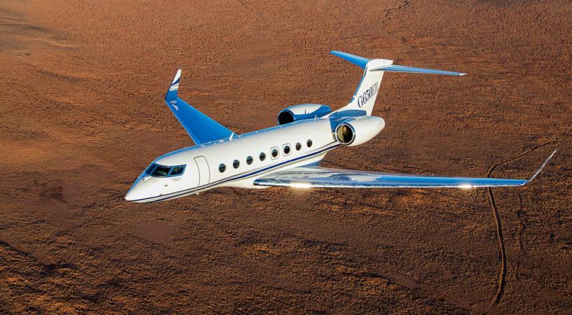 4 g650er aerial 008 photo by paul bowen 816x450 - Gulfstream G650ER  - рекорд за рекордом