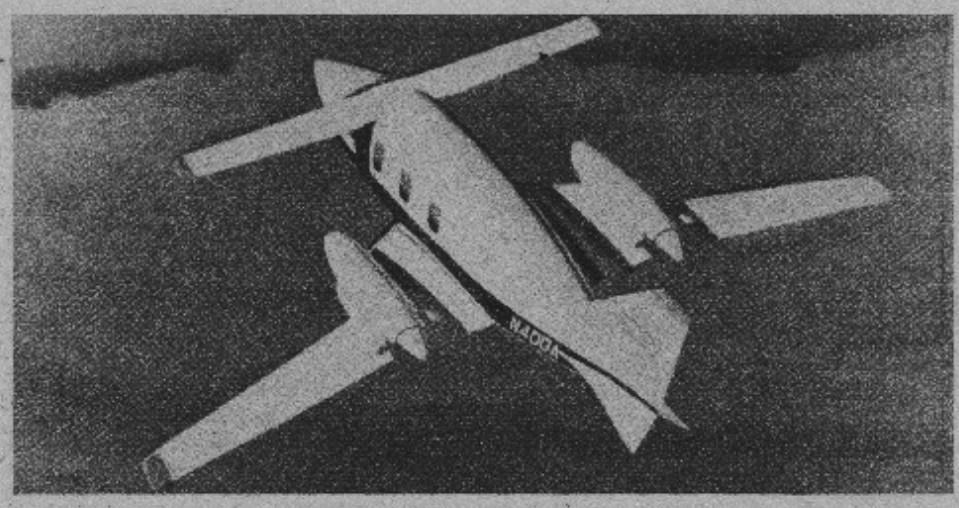 "AVTEK 400A.1990r.zdj .02 - Как Piaggio P.180 Avanti стал ""небесным Ferarri""?"