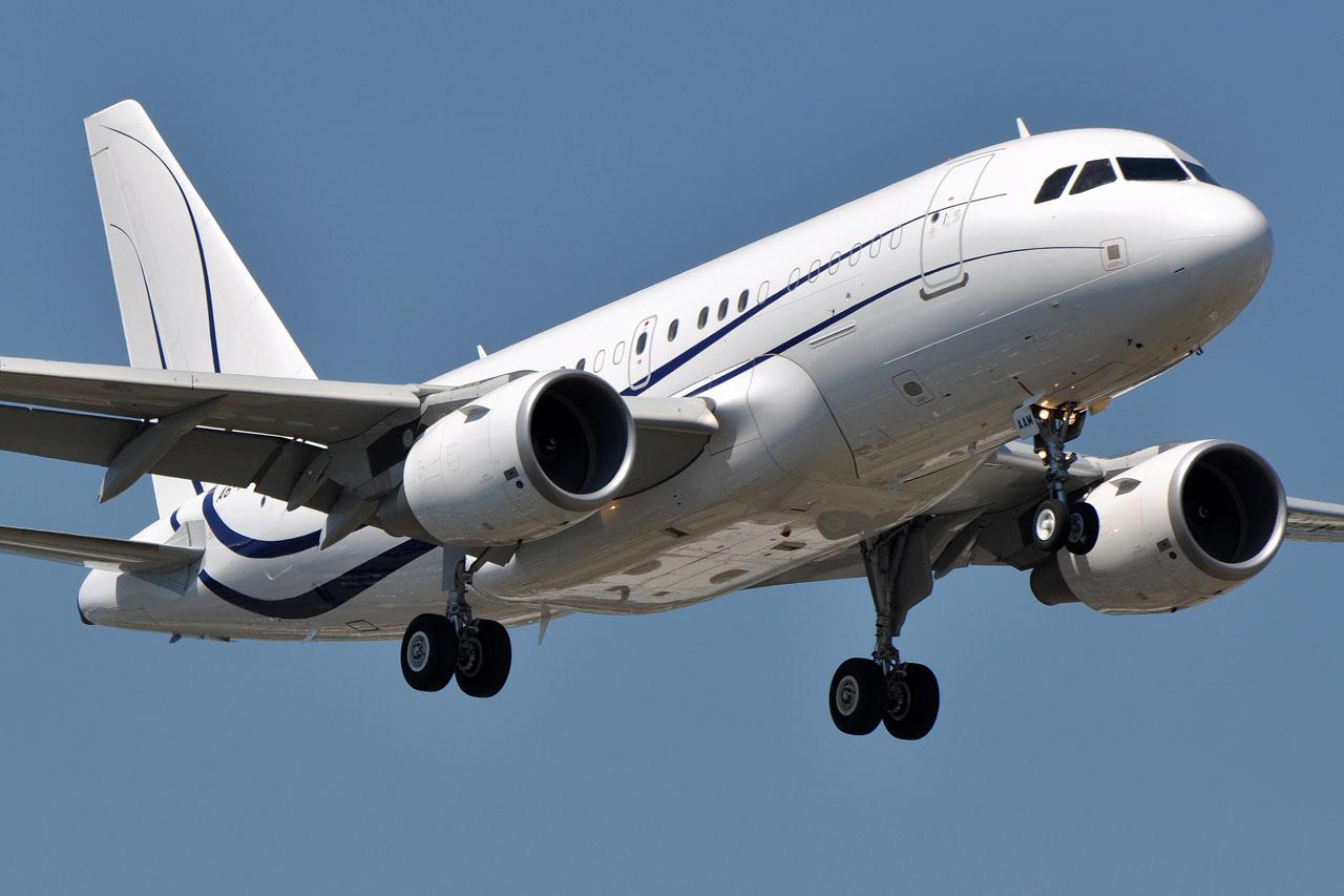 Airbus ACJ320 - В Тулузе закончена сборка бизнес-джета  ACJ320