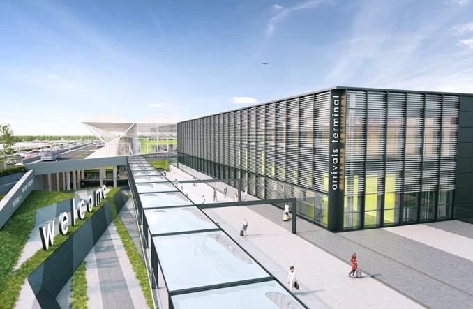 LodonStanstedAirport - Лондон-Станстед получит новый терминал прилетов