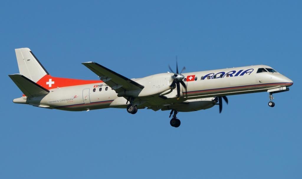 Saab 2000 1024x607 - Adria Airways открывает базу в Германии