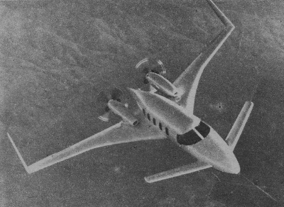 "Starship I.1983r.zdj .01 - Как Piaggio P.180 Avanti стал ""небесным Ferarri""?"