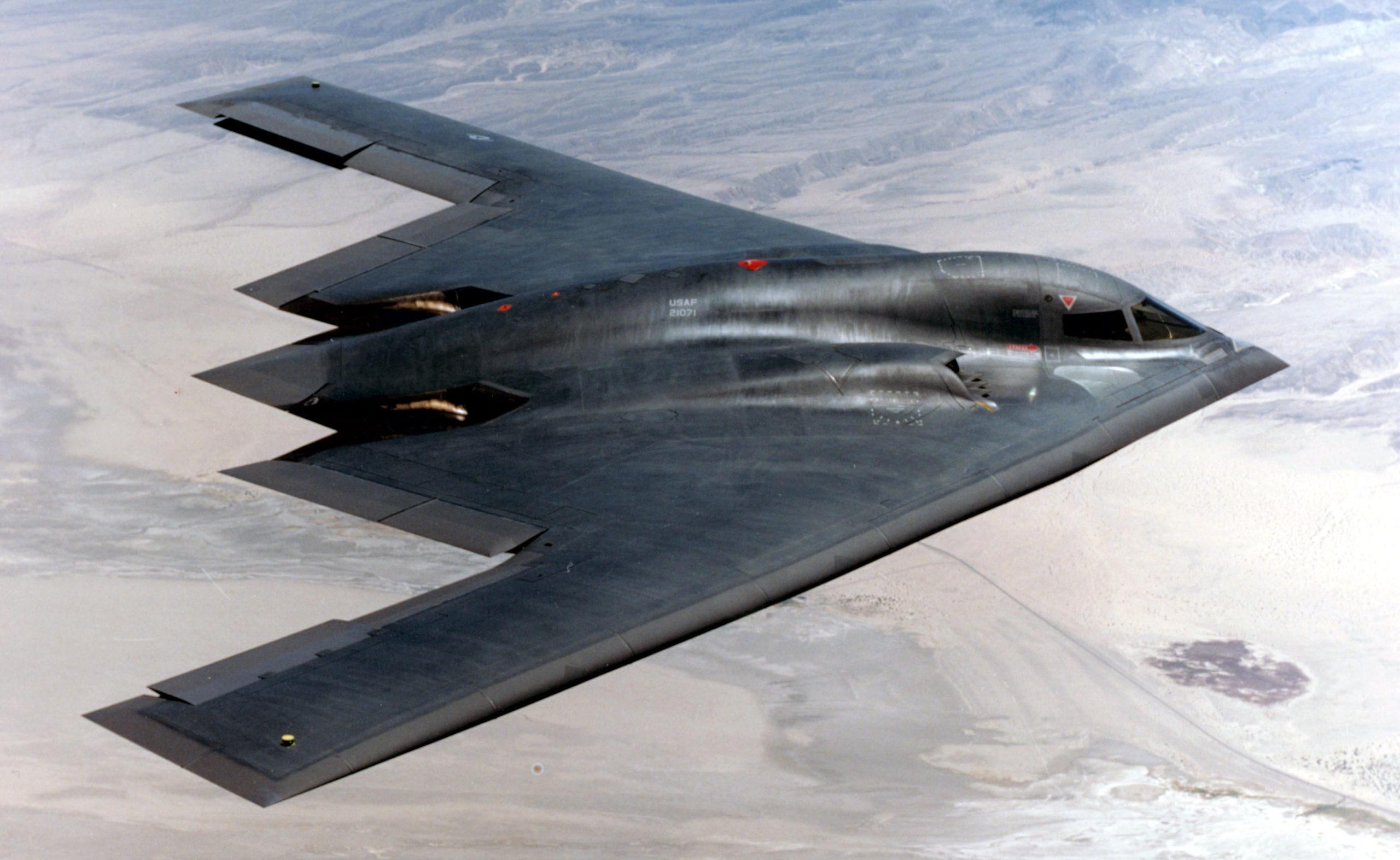 Самый дорогой самолет в истории Northrop Grumman B-2 Spirit