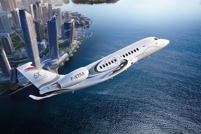 falcon 6x free big - На авиасалоне Labace будет представлен виртуальный салон нового Falcon 6X