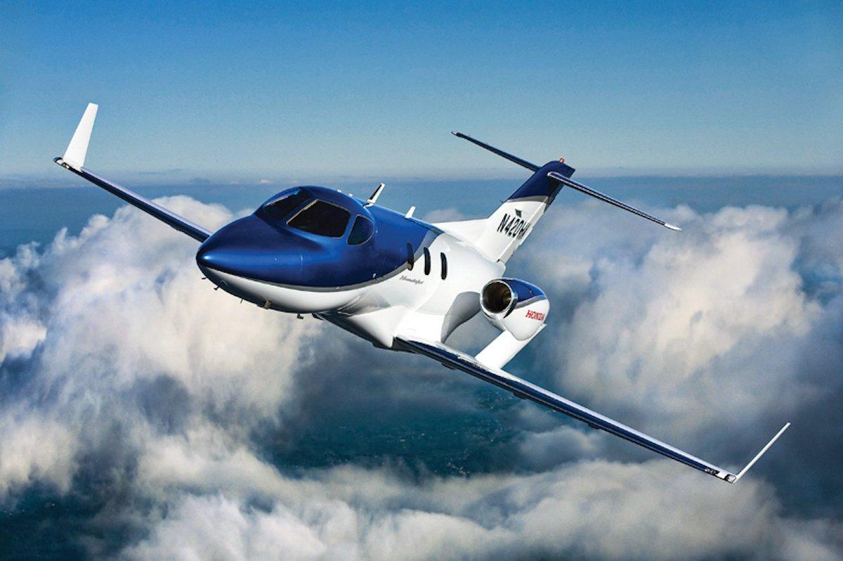 hondajet 1 - Какие сейчас цены на самые популярные в мире деловые самолеты?