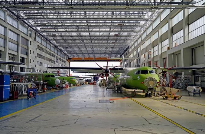 20180917131135ATRassemblyline.jpg 678 443 - Как производятся самолеты ATR? Фоторепортаж