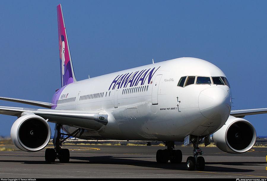 В самолете авиакомпании Hawaiian Airlines взорвался перцовый баллончик