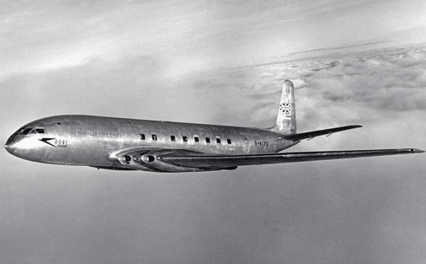 365 aircraft you must fly - Первый в мире турбореактивный коммерческий самолет De Havilland DH 106 Comet - его взлеты и падение