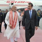 Индийский премьер принял участие в открытии юбилейного аэропорта в стране
