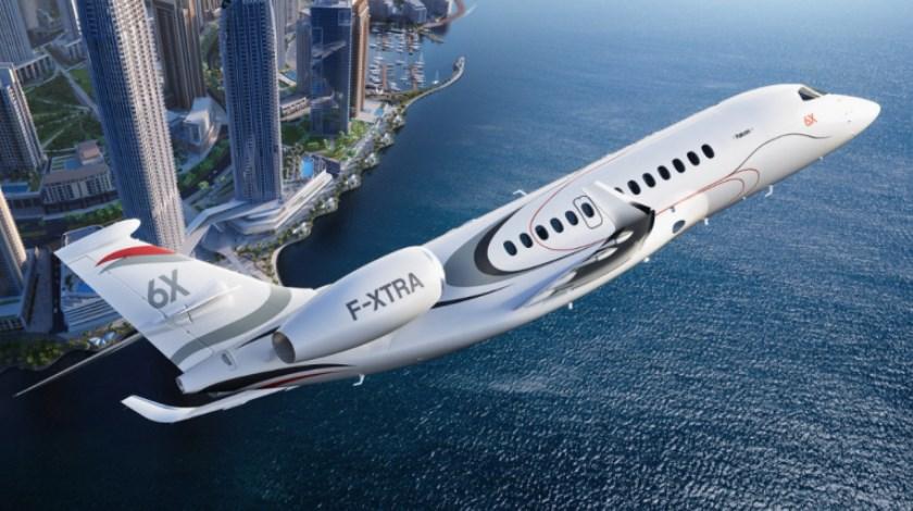Dassault выпустит новый Falcon 6X Luxury Business Jet