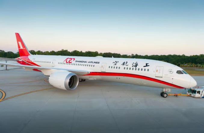 ShanghaiAirlines - Первый Boeing B787-9 Dreamliner для Shanghai Airlines
