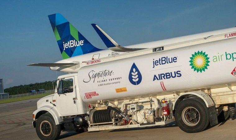 airbus combustivel free big 760x450 - Airbus поставил в Соединенные Штаты первый A321, работающий на биотопливе