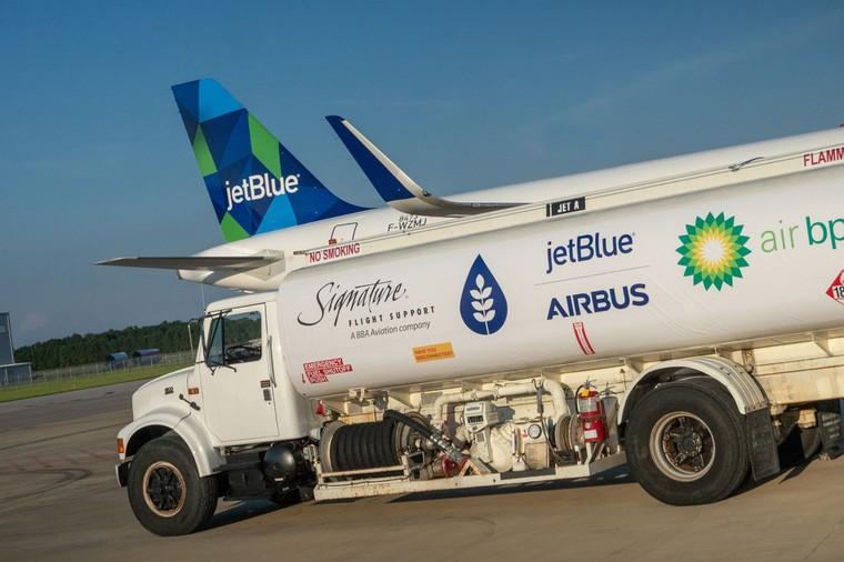 airbus combustivel free big - Airbus поставил в Соединенные Штаты первый A321, работающий на биотопливе