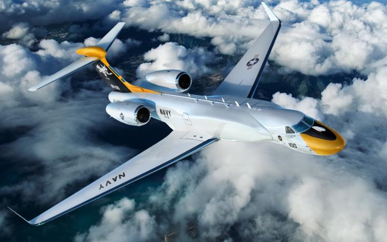 bh 100 1 free big - Новый разведывательный самолет для ВМС США на базе G550