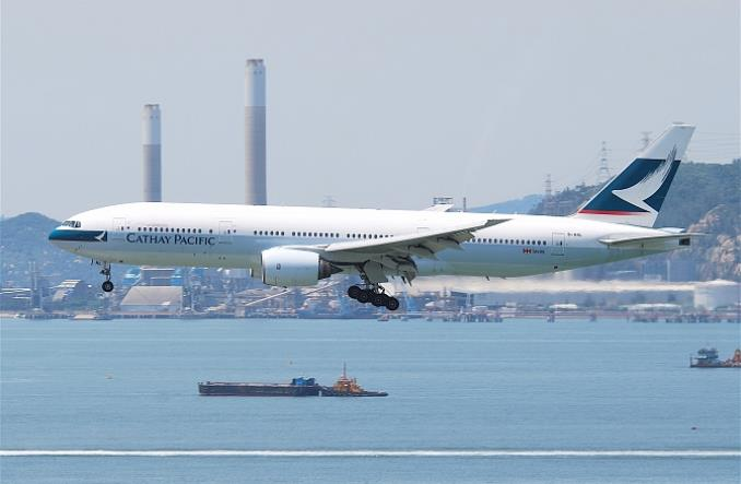 cathaypacificboeing777200 - Конец еще одной эпохи - Boeing 777 становится музейным экспонатом