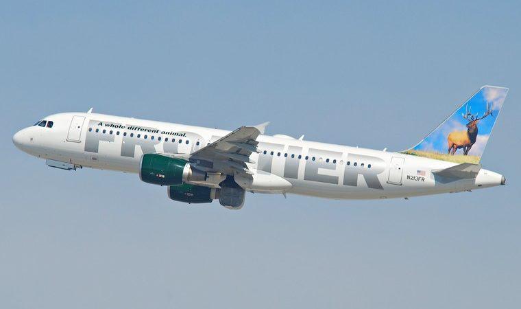 frontier airlines airbus a320 214 n213frlax10.10.2011 622iz 6482409671 free big 760x450 - Влияние авиации на глобальные изменения климата