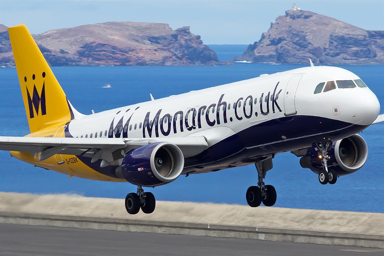 monarch 2017100206245235 - 5 авиакомпаний ЕС обанкротятся в 2018-2019 годах