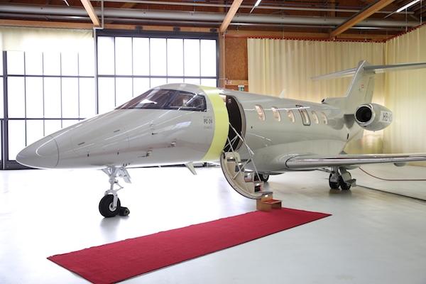 Pilatus передал первый PC-24 компании Jetfly