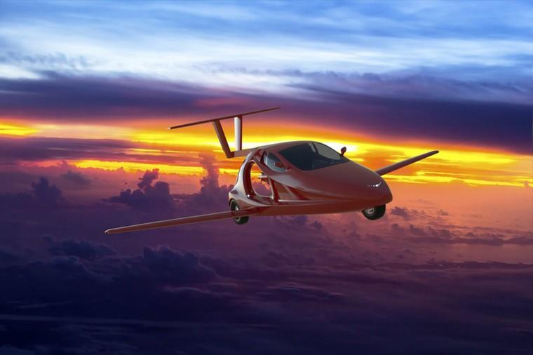 Летающий автомобиль Switchblade