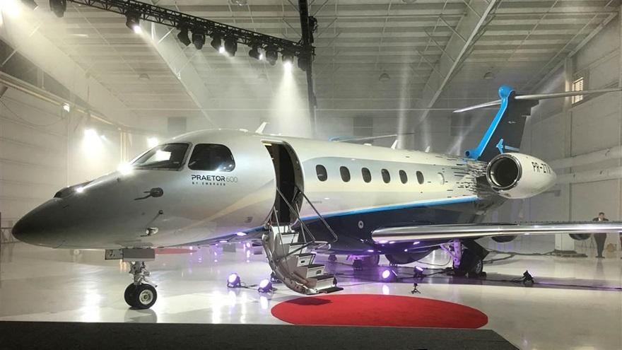 1014 embraer2 16x9 - На авиасалоне NBAA-ВАСЕ в Орландо Embraer представил два новых бизнес-джета