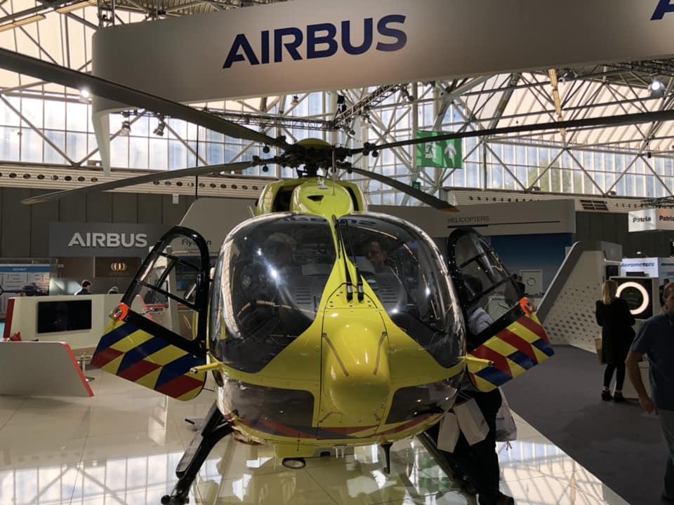 Вертолет медицинско-спасательной службы H135