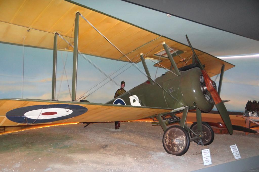 Страницы истории: Sopwith F.1 Camel и его ротативный двигатель