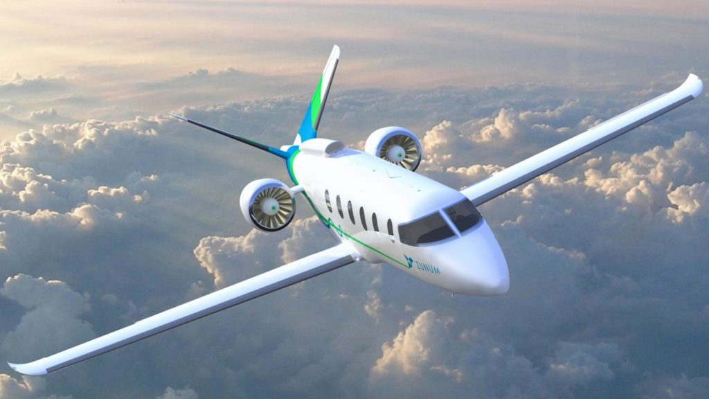 large 1713 938fb 1024x576 - Новый гибридный самолёт от Boeing