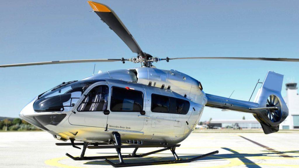 Новогодние вертолетные