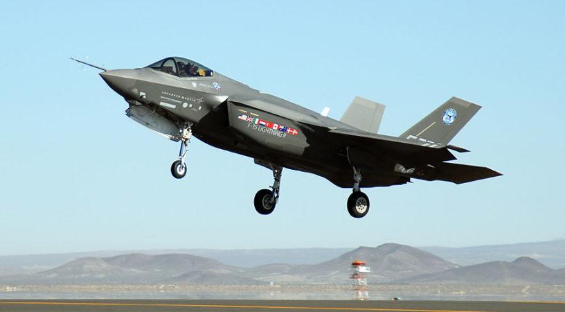Пентагон вооружается истребителями F-35