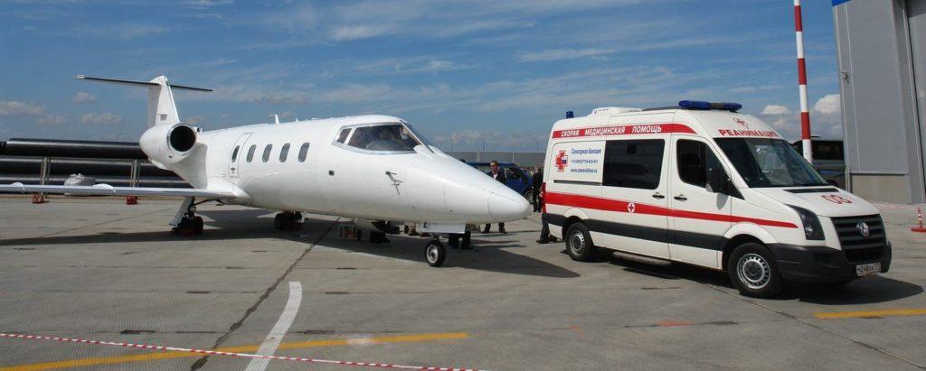 частный медицинский самолет
