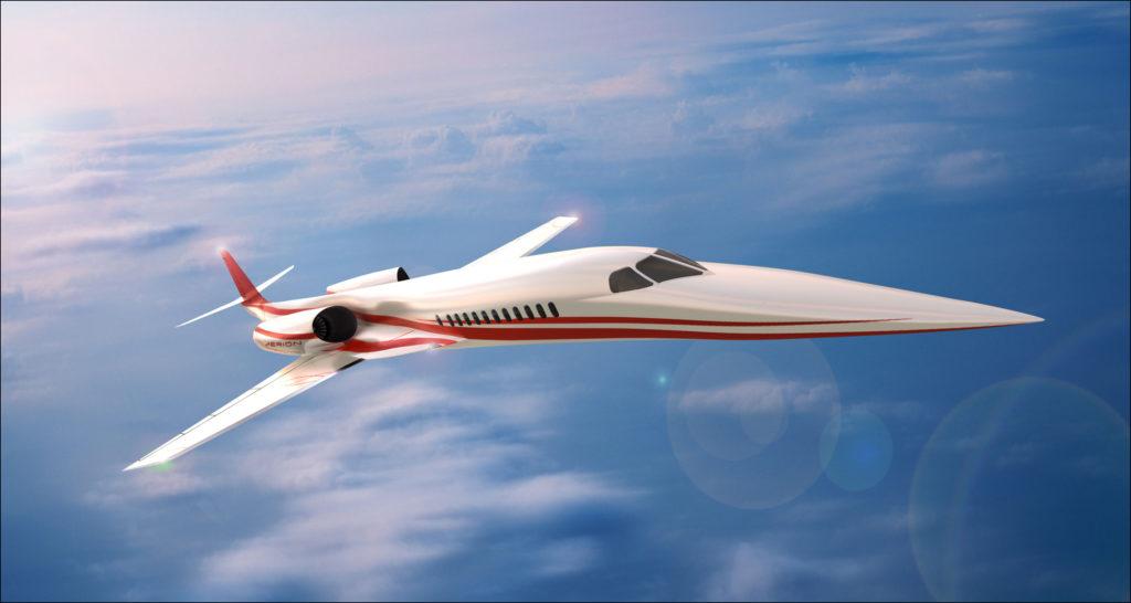Aerion Supersonic Business Jet 5 1024x546 - Сверхзвуковые пассажирские самолёты – вчера, сегодня, завтра