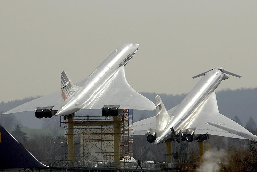 Tu 144 Concorde - Сверхзвуковые пассажирские самолёты – вчера, сегодня, завтра