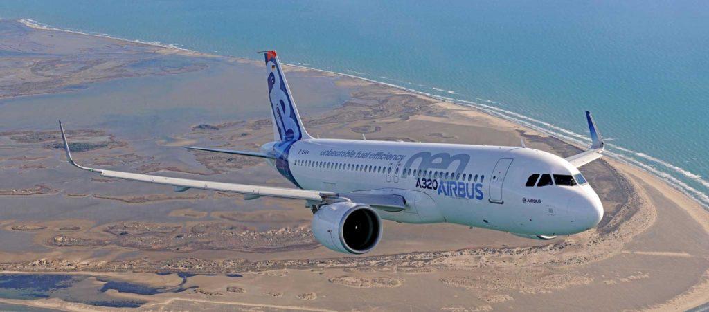 a320neo 1 1024x451 - Бизнес-джет ACJ320neo предвещает начало новой эры деловых самолетов
