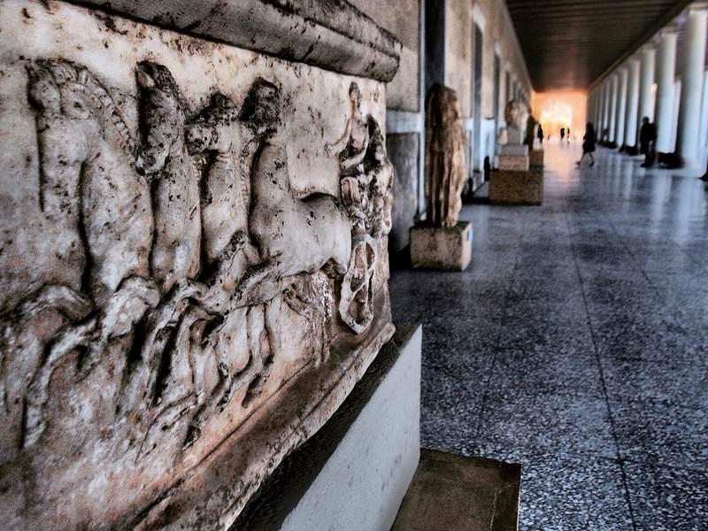 afiny 2 - Мировые достопримечательности: Афины