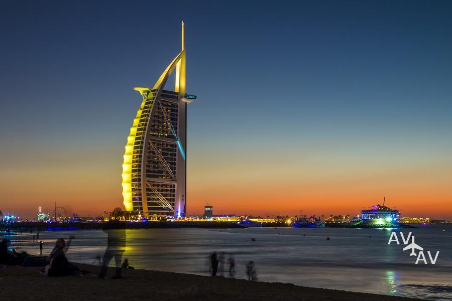 dubai - Отель Бурдж аль Араб в городе Дубай