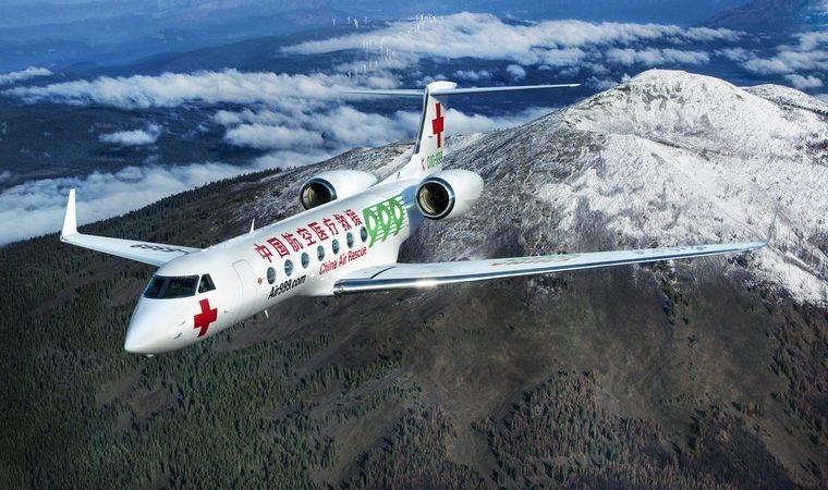 """gulfstream medevac aircraft free big 760x450 - Авиационная """"скорая помощь"""" от концерна Gulfstream"""